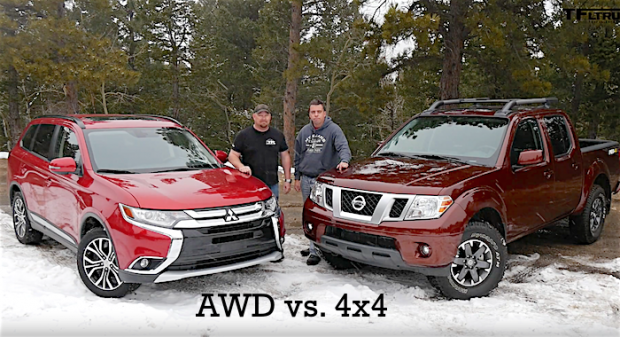 difference between AWD and 4WD