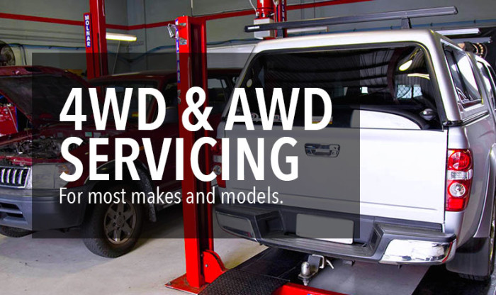 4WD & AWD Servicing