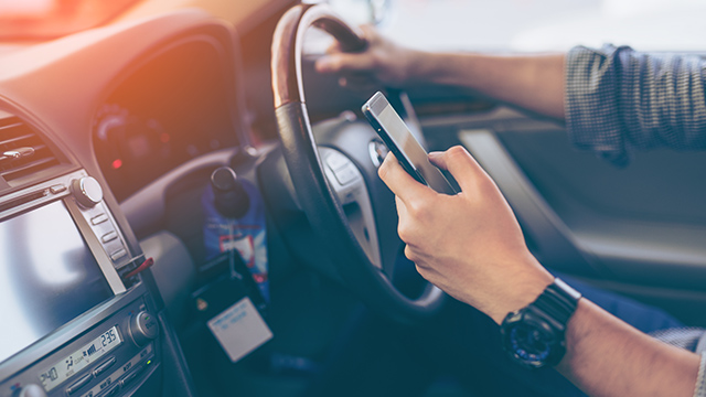 driving and mobile phones